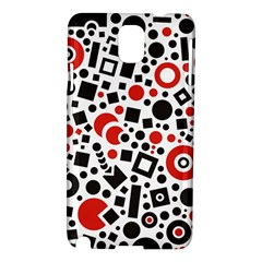 Square Objects Future Modern Samsung Galaxy Note 3 N9005 Hardshell Case