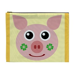 Luck Lucky Pig Pig Lucky Charm Cosmetic Bag (xl) by Celenk