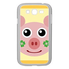 Luck Lucky Pig Pig Lucky Charm Samsung Galaxy Grand Duos I9082 Case (white) by Celenk