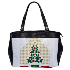 Christmas Tree Present House Star Office Handbags by Celenk