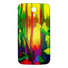 Abstract Vibrant Colour Botany Samsung Galaxy Mega I9200 Hardshell Back Case by Celenk