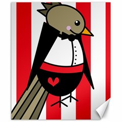 Bird Cute Design Cartoon Drawing Canvas 20  X 24   by Celenk