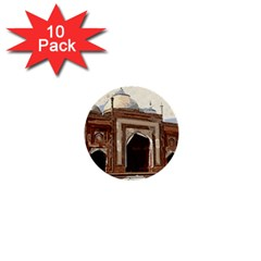 Agra Taj Mahal India Palace 1  Mini Buttons (10 Pack)