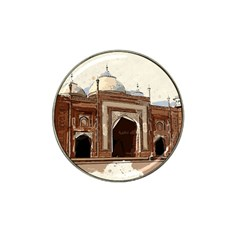 Agra Taj Mahal India Palace Hat Clip Ball Marker (10 Pack) by Celenk