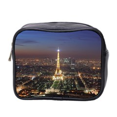 Paris At Night Mini Toiletries Bag 2 Side by Celenk