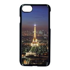 Paris At Night Apple Iphone 8 Seamless Case (black) by Celenk