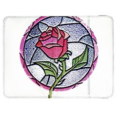 Beauty And The Beast Rose Samsung Galaxy Tab 7  P1000 Flip Case by Celenk