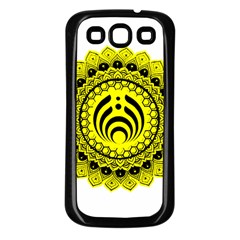 Bassnectar Sunflower Samsung Galaxy S3 Back Case (black) by Celenk