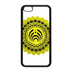 Bassnectar Sunflower Apple Iphone 5c Seamless Case (black) by Celenk