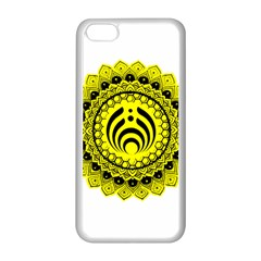 Bassnectar Sunflower Apple Iphone 5c Seamless Case (white) by Celenk