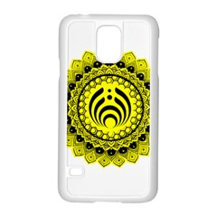 Bassnectar Sunflower Samsung Galaxy S5 Case (white) by Celenk