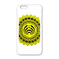 Bassnectar Sunflower Apple Iphone 6/6s White Enamel Case by Celenk