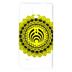 Bassnectar Sunflower Galaxy Note 4 Back Case by Celenk