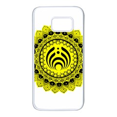 Bassnectar Sunflower Samsung Galaxy S7 White Seamless Case by Celenk