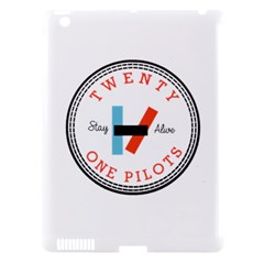 Twenty One Pilots Apple Ipad 3/4 Hardshell Case (compatible With Smart Cover) by Celenk