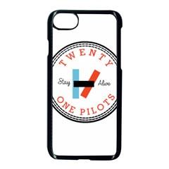Twenty One Pilots Apple Iphone 8 Seamless Case (black) by Celenk