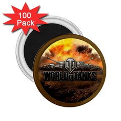 World Of Tanks Wot 2 25  Magnets (100 Pack)  by Celenk
