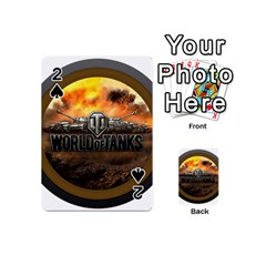 World Of Tanks Wot Playing Cards 54 (mini)  by Celenk