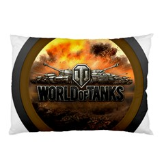 World Of Tanks Wot Pillow Case (two Sides) by Celenk