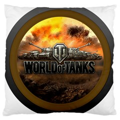 World Of Tanks Wot Large Cushion Case (two Sides) by Celenk