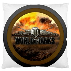 World Of Tanks Wot Standard Flano Cushion Case (two Sides) by Celenk