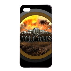 World Of Tanks Wot Apple Iphone 4/4s Seamless Case (black) by Celenk