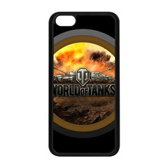 World Of Tanks Wot Apple Iphone 5c Seamless Case (black) by Celenk