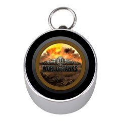 World Of Tanks Wot Mini Silver Compasses by Celenk
