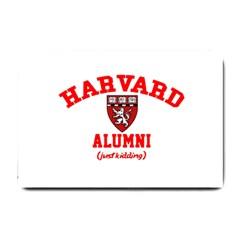Harvard Alumni Just Kidding Small Doormat
