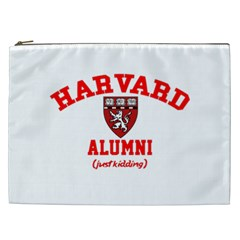 Harvard Alumni Just Kidding Cosmetic Bag (xxl)  by Celenk