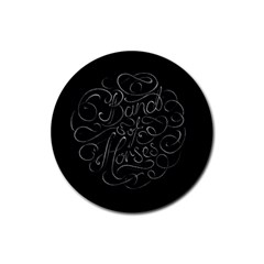 Band Of Horses Rubber Round Coaster (4 Pack)  by Celenk