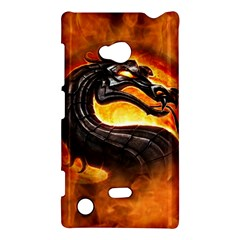 Dragon And Fire Nokia Lumia 720 by Celenk