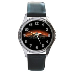 World Of Tanks Round Metal Watch by Celenk
