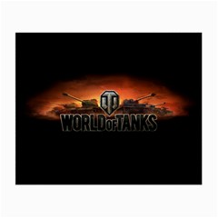 World Of Tanks Small Glasses Cloth by Celenk