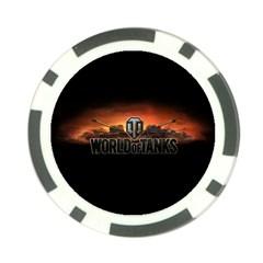 World Of Tanks Poker Chip Card Guard by Celenk
