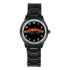 World Of Tanks Stainless Steel Round Watch by Celenk