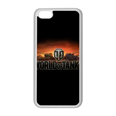 World Of Tanks Apple Iphone 5c Seamless Case (white) by Celenk