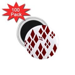 Harley Quinn Logo 1 75  Magnets (100 Pack)  by Celenk