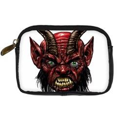 Krampus Devil Face Digital Camera Cases by Celenk