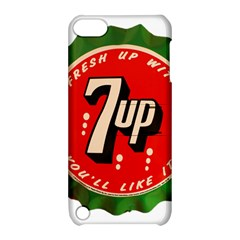 Fresh Up With  7 Up Bottle Cap Tin Metal Apple Ipod Touch 5 Hardshell Case With Stand by Celenk