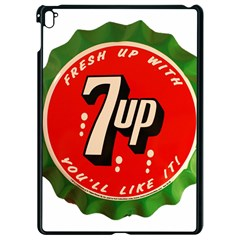 Fresh Up With  7 Up Bottle Cap Tin Metal Apple Ipad Pro 9 7   Black Seamless Case by Celenk