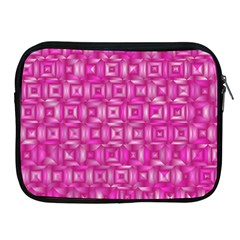 Classic Blocks,pink Apple Ipad 2/3/4 Zipper Cases by MoreColorsinLife