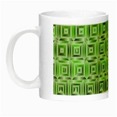 Classic Blocks,green Night Luminous Mugs by MoreColorsinLife