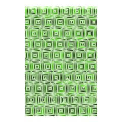Classic Blocks,green Shower Curtain 48  X 72  (small)  by MoreColorsinLife