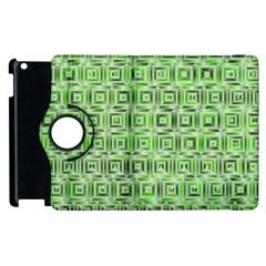 Classic Blocks,green Apple Ipad 2 Flip 360 Case by MoreColorsinLife