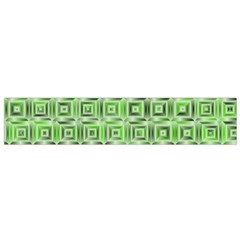 Classic Blocks,green Small Flano Scarf by MoreColorsinLife