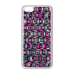 Classic Blocks,pink Combo Apple Iphone 5c Seamless Case (white) by MoreColorsinLife