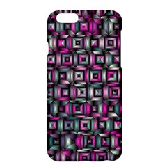Classic Blocks,pink Combo Apple Iphone 6 Plus/6s Plus Hardshell Case by MoreColorsinLife