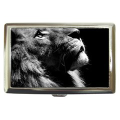 Male Lion Face Cigarette Money Cases by Celenk
