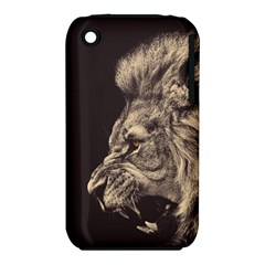 Angry Male Lion Iphone 3s/3gs by Celenk